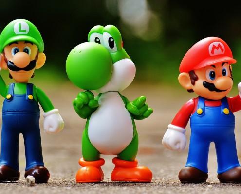 jeux vidéo ; mario ; e-sport ; clichés